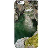 Green water under the bridge iPhone Case/Skin