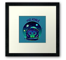 SPACE MONKIE Framed Print