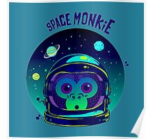 SPACE MONKIE Poster