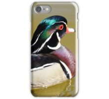 Wood Duck iPhone Case/Skin