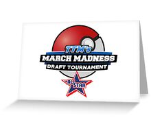 TheTokenMinorities March Madness Draft Tournament All Star Logo Greeting Card