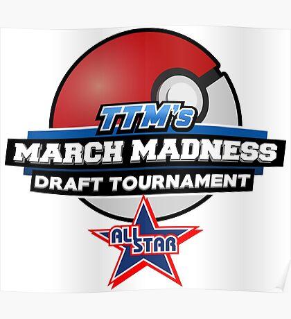 TheTokenMinorities March Madness Draft Tournament All Star Logo Poster