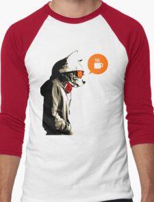 COFFEE CAT Men's Baseball ¾ T-Shirt