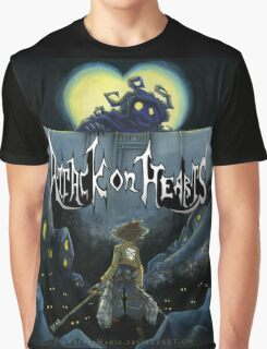 Attack on Hearts Graphic T-Shirt