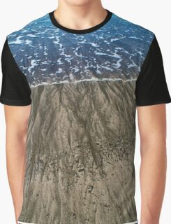 Waves on the Shore  Graphic T-Shirt