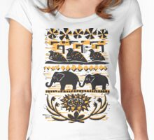 Tribal March Women's Fitted Scoop T-Shirt