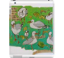 Leaves and Seagulls iPad Case/Skin