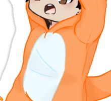 Dan Howell crsvr Charmander  Sticker