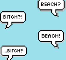 Beach?? Sticker