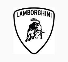 Lamborghini Logo Black N White Unisex T-Shirt
