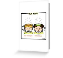 Tea Wars Greeting Card
