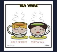 Tea Wars One Piece - Short Sleeve