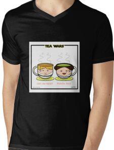 Tea Wars Mens V-Neck T-Shirt