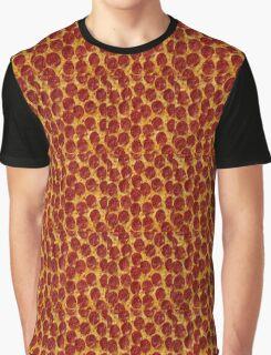 Peperoni Pizza Graphic T-Shirt
