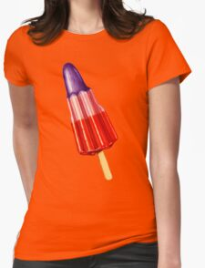 Zoom Ice Lolly Pattern 2 Womens Fitted T-Shirt