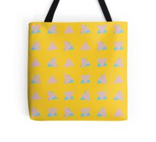 Pastel 80's Triangles Tote Bag