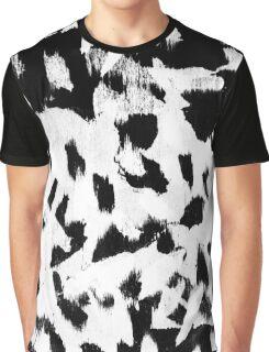 Tombs Brush Pattern Graphic T-Shirt
