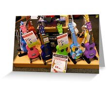 Funky Guitars for Kids Greeting Card