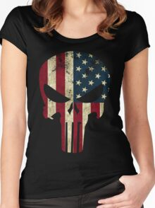 Punisher of America Women's Fitted Scoop T-Shirt