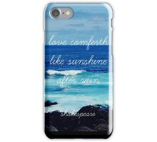 LOVE AND THE SEA iPhone Case/Skin