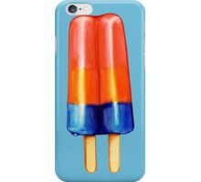 Rainbow Double Popsicle Pattern iPhone Case/Skin