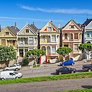 Painted Ladies of Alamo Square by TonyCrehan