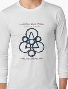 coheed and cambria in keepin secrets of silent lyric Long Sleeve T-Shirt