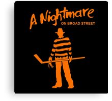 NIGHTMARE HOCKEY Canvas Print