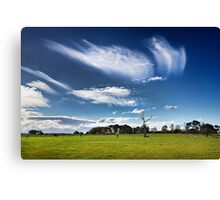 Whispering clouds Canvas Print