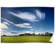 Whispering clouds Poster