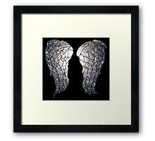 Dixon Wings Framed Print