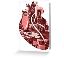 Follow your Heart Punk! Greeting Card