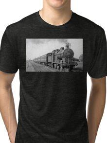 Steam Train Tri-blend T-Shirt