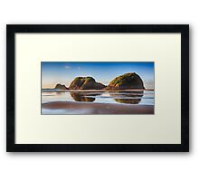 Looking Back_New Plymouth Framed Print