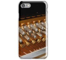 Points of Attachment - Inside The Piano iPhone Case/Skin