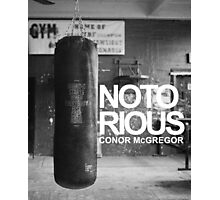 notorious MMA Photographic Print