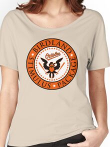 BIRDLAND Women's Relaxed Fit T-Shirt