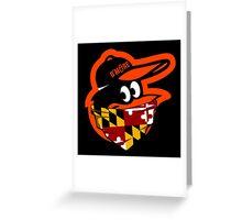 GANGSTER BIRD ( BASEBALL PARODY ) Greeting Card