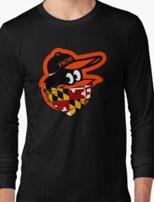 GANGSTER BIRD ( BASEBALL PARODY ) Long Sleeve T-Shirt