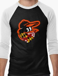GANGSTER BIRD ( BASEBALL PARODY ) Men's Baseball ¾ T-Shirt