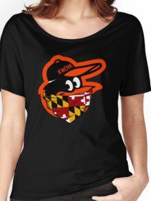 GANGSTER BIRD ( BASEBALL PARODY ) Women's Relaxed Fit T-Shirt