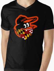 GANGSTER BIRD ( BASEBALL PARODY ) Mens V-Neck T-Shirt