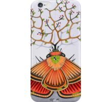 tree - moth (original sold) iPhone Case/Skin