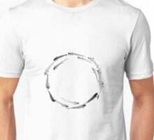 Sumi ink fishes enso Unisex T-Shirt