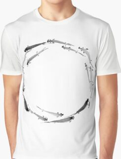 Sumi ink fishes enso Graphic T-Shirt