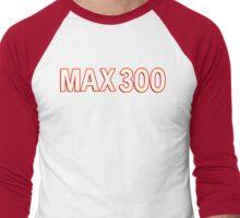 max 300 (original ddr style) variation 1 Men's Baseball ¾ T-Shirt
