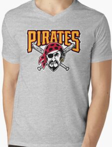 THE PIRATES Mens V-Neck T-Shirt