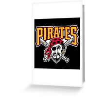 THE PIRATES Greeting Card