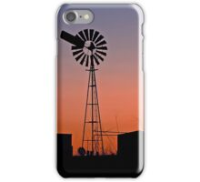 Oakey Sunset  - Qld Australia iPhone Case/Skin