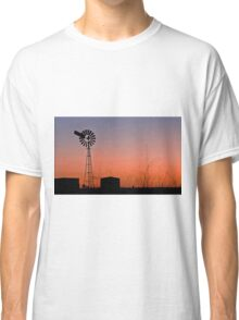 Oakey Sunset  - Qld Australia Classic T-Shirt